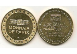 Penning Parijs Monais de Paris World Money Fair 2013
