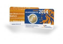 Nederland 2014 10 Cent Geluksdubbeltje