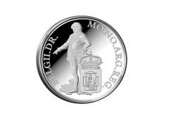 Zilveren Dukaat Proof 2014 Drenthe incl doosje & certificaat