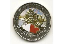 2 Euro Malta 2013 Self Government gekleurd 183/