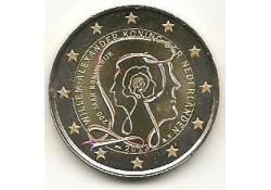 2 Euro Nederland 2013 200 jaar Koninkrijk Gekleurd 190Alg
