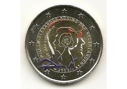 2 Euro Nederland 2013 200 jaar Koninkrijk Gekleurd 190/NL24