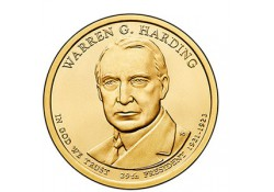 KM ??? U.S.A. 29 th President Dollar 2014 P Warren G. Harding