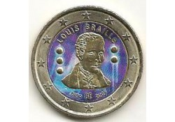2 Euro België 2009 Braille Gekleurd 095/?