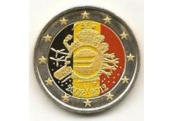 2 Euro België 2012 10 jaar Euro Gekleurd 137/3